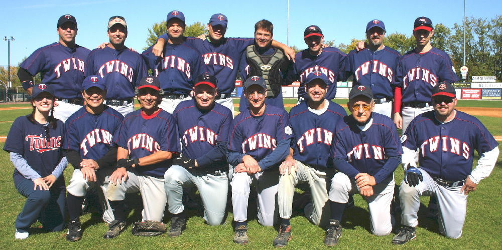 2009 Twins team picture