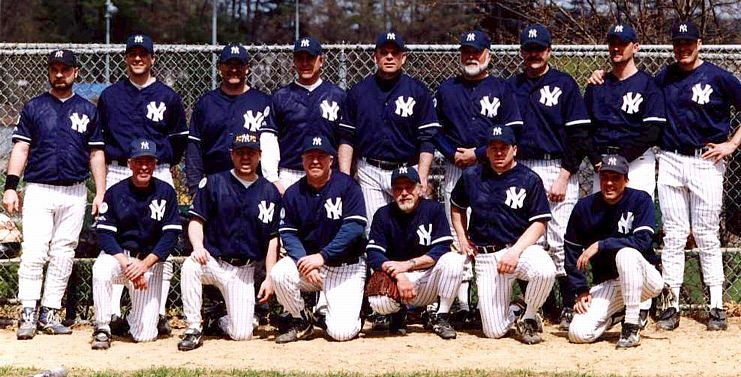 2002 Yankees team picture