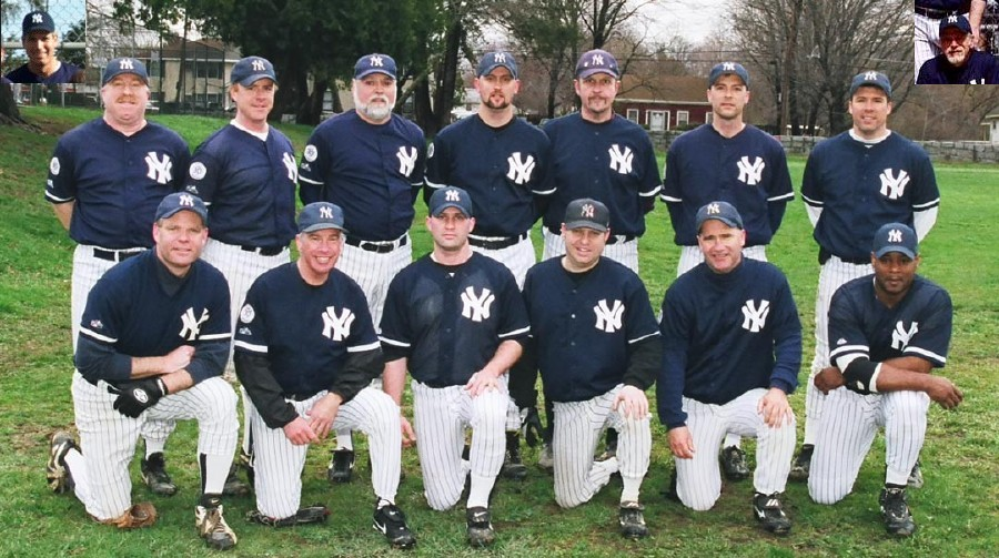 2003 Yankees team picture