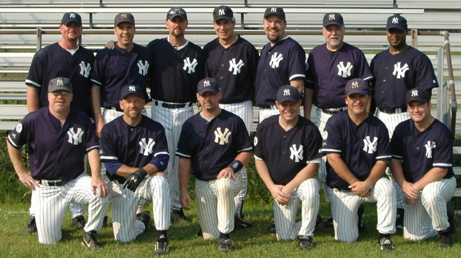 2005 Yankees team picture