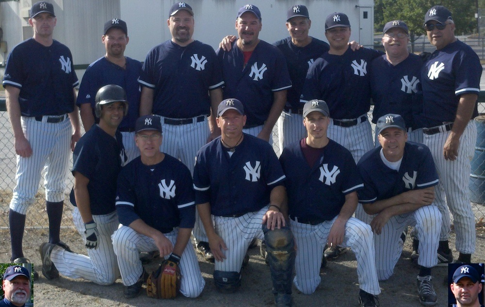 2012 Yankees team picture