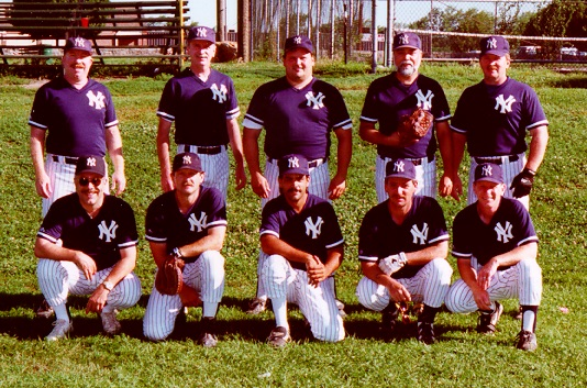 1996 Yankees team picture